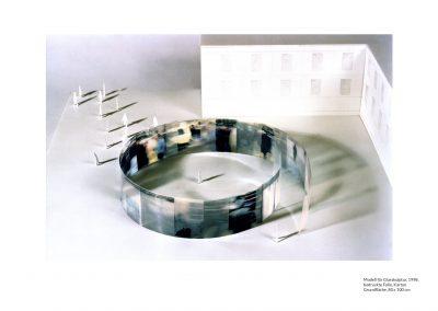 Modell für Glasskulptur (1998)